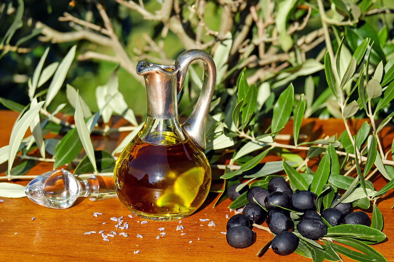 Olive oil in Chianti